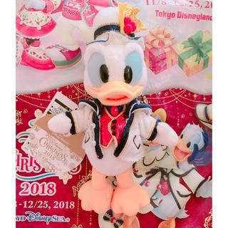 ドナルドダック(ドナルドダック)のディズニー シー クリスマス 2018 ドナルド ぬいぐるみバッチ①(ぬいぐるみ)
