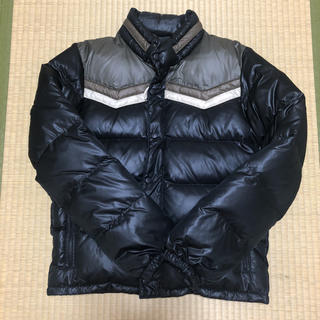 タケオキクチ(TAKEO KIKUCHI)のメンズダウン ブラック Lサイズ キクチタケオ(ダウンジャケット)