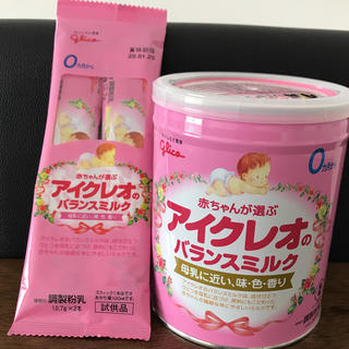 グリコ(グリコ)のアイクレオ☆粉ミルク(その他)