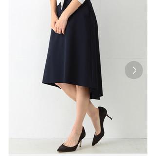 デミルクスビームス(Demi-Luxe BEAMS)の専用 デミルクス Beams スカート ネイビー 38サイズ(ひざ丈スカート)