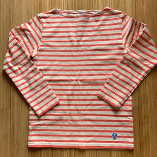 オーシバル(ORCIVAL)のORCIVAL ボーダーバスクシャツ サイズ1(カットソー(長袖/七分))