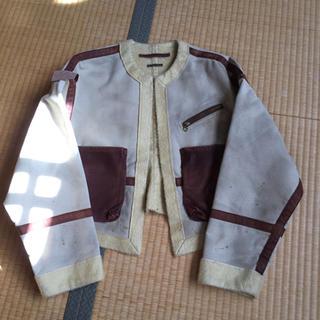キャピタル(KAPITAL)の新品未使用 ショートジャケット サイズ1(ノーカラージャケット)