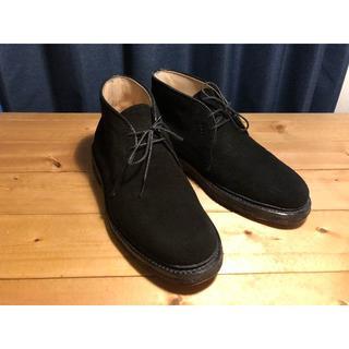 オールデン(Alden)のAlden × BEAMS別注 スエード チャッカブーツ 5.5 D(ブーツ)