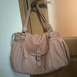 トプカピ(TOPKAPI)のトプカピバッグ  薄茶色  (ハンドバッグ)
