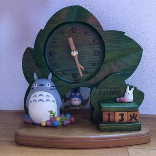 ジブリ(ジブリ)のとなりのトトロ 置き時計(置時計)