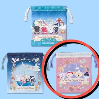 ダッフィー - 新品 ダッフィー クリスマス 巾着 1枚 2018