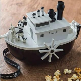 Disney - 新品未使用 TDR ディズニー 蒸気船ウィリー ポップコーンバケット