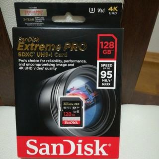 サンディスク(SanDisk)のSanDisk 128GB 95MB/s SDメモリーカード防水 耐衝撃 耐X線(その他)