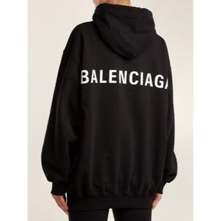 Balenciaga - BALENCIAGA オーバーサイズパーカー