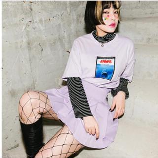 ミックスエックスミックス(mixxmix)のJAWS Tシャツ mixxmix(Tシャツ(半袖/袖なし))