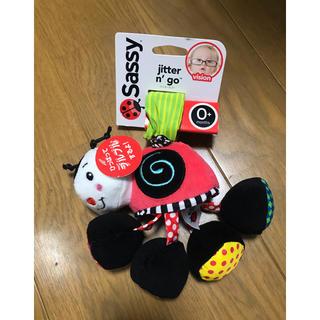 サッシー(Sassy)のsassy サッシー てんとう虫 ジッター&ゴー おもちゃ ブルブル ベビーカー(ベビーカー用アクセサリー)