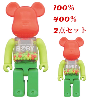 MEDICOM TOY -  BE@RBRICK NEON Ver. 100% 400% ベアブリックネオン