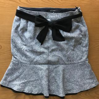 ジャイロ(JAYRO)のJAYRO マーメイド スカート M 秋冬 リボン付き(ひざ丈スカート)