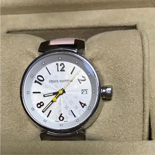 ルイヴィトン(LOUIS VUITTON)の【❤極美品】❤ルイ ヴィトン 腕時計 【タンブール】(腕時計)