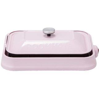 ☆マルチ ホットプレート 3WAY☆ たこ焼き 焼き肉 など ピンク(ホットプレート)