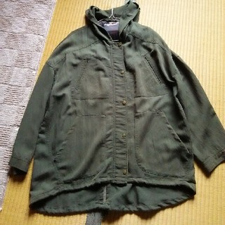 ジーユー(GU)のgu 薄手 ジャケット(ミリタリージャケット)