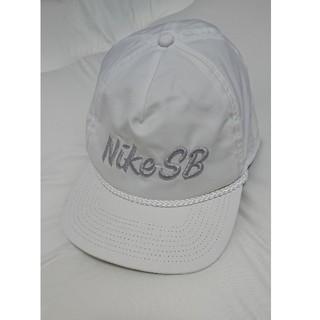 ナイキ(NIKE)のNIKE SB キャップ 白(キャップ)
