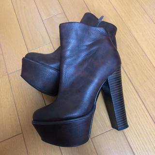 アールアンドイー(R&E)のR&E ブーツ 23cm(ブーツ)