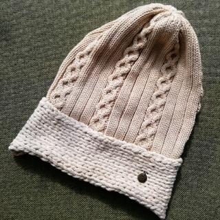 アーノルドパーマー(Arnold Palmer)のアーノルドパーマー コットンニット帽子(キャップ)