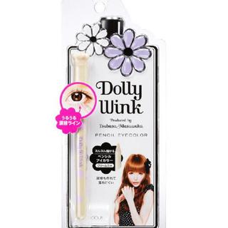ドーリーウィンク(Dolly wink)の益若つばさ❤︎ドーリーウィンク ペンシルアイカラー クリームラメ 涙袋 コージー(アイライナー)