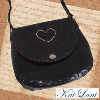 カイラニ(Kai Lani)のKai Lani♡人気完売品♡リアルレザーBag♡black(ショルダーバッグ)