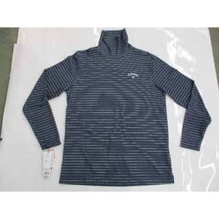 キャロウェイゴルフ(Callaway Golf)のキャロウェイ 長袖ハイネックシャツ (241-7254503) ネイビー 3L(ウエア)