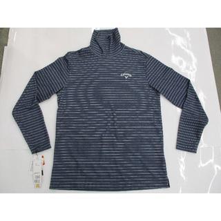 キャロウェイゴルフ(Callaway Golf)のキャロウェイ 長袖ハイネックシャツ (241-7254503) ネイビー LL(ウエア)