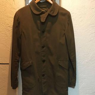 ステュディオダルチザン(STUDIO D'ARTISAN)のオルゲイユ  コットンリネンラウンドカラーコート  未使用品(ステンカラーコート)