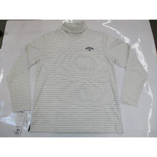 キャロウェイゴルフ(Callaway Golf)のキャロウェイ 長袖ハイネックシャツ (241-7254503) ホワイト 3L(ウエア)