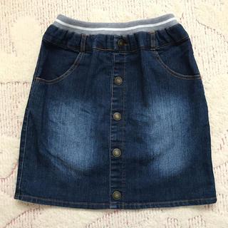 イッカ(ikka)のikka キッズデニムスカート 150(スカート)