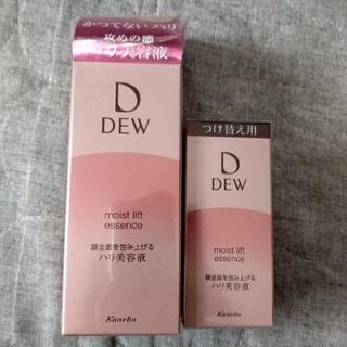 デュウ(DEW)のDEW デュウ モイストリフトエッセンス ハリ美容液 詰替え セット 未開封(美容液)