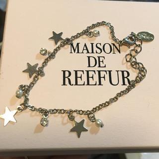 メゾンドリーファー(Maison de Reefur)のMAISONDEREEFUR‧✧̣̥̇‧シルバースターブレスレット(ブレスレット/バングル)