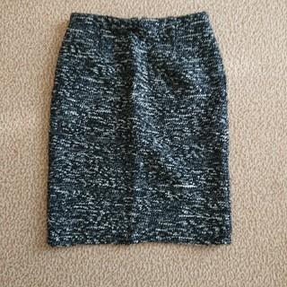 アナイ(ANAYI)のアナイ ツイード タイトスカート(ひざ丈スカート)