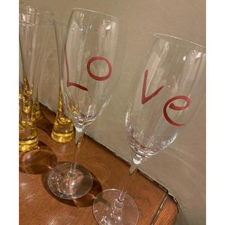 ドンペリニヨン(Dom Pérignon)のドン・ペリニヨン LOVEシャンパングラス 未使用品(グラス/カップ)