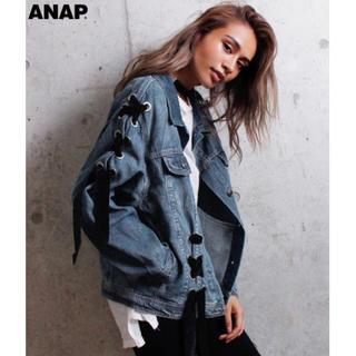 アナップ(ANAP)のベロアデニムジャケット(その他)