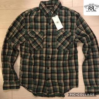 ダブルアールエル(RRL)のダブルアールエル マットロック プラッド コットンワークシャツ(シャツ)
