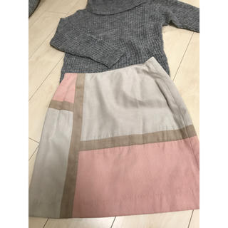 アールディールージュディアマン(RD Rouge Diamant)のROUGE DIAMANT バイカラースカート(ミニスカート)