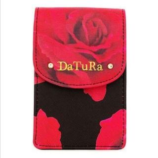 ダチュラ(DaTuRa)の激レアダチュラバラ柄タバコケース黒新品同様(その他)