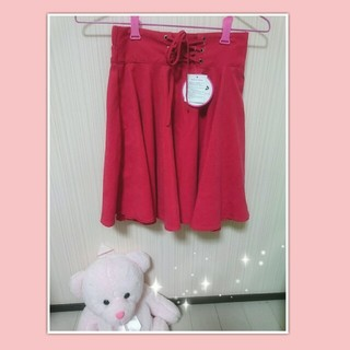 スピンズ(SPINNS)のSPINNS♡レースアップスカート(ミニスカート)