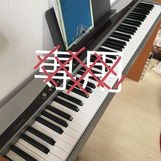 カシオ(CASIO)のカシオ Privia PX-500L スタンド付 説明書あり(電子ピアノ)