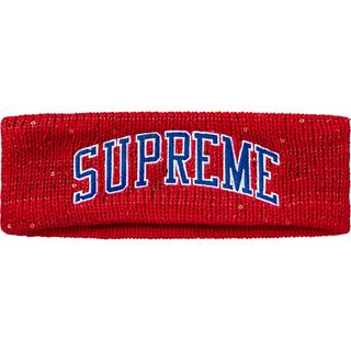 シュプリーム(Supreme)のSupreme New Era Sequin Arc Logo Headband(その他)