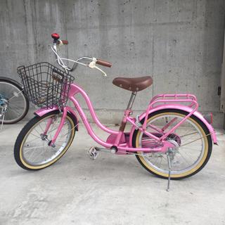 子供用18インチ自転車(自転車)
