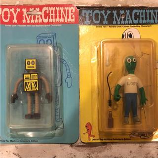 トイマシーン(Toy Machine)の00's 希少 TOY MACHINE フィギュア2体セット(スケートボード)
