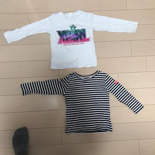 エックスガールステージス(X-girl Stages)のx-girlstaes 2着セット(Tシャツ/カットソー)