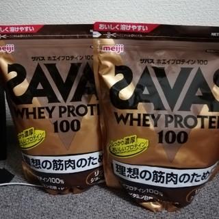【2袋】ザバス ホエイプロテイン 1050g