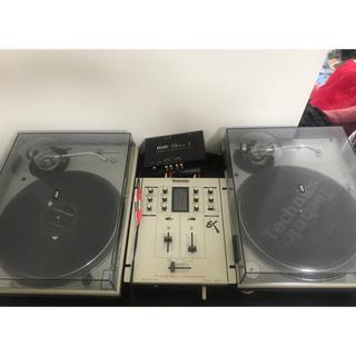 Technics ターンテーブル ミキサー  DJ セット スクラッチライブ(ターンテーブル)