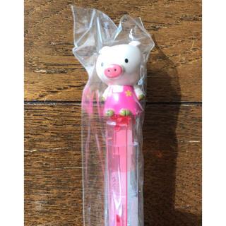 ゼブラ(ZEBRA)のキャラクター ボールペン ピンクのブタ 製薬会社(ペン/マーカー)