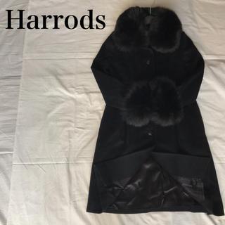 ハロッズ(Harrods)のHarrods ボリュームファー コート【 バーバリー マックスマーラ 好きに(毛皮/ファーコート)