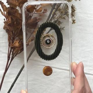 アングリッド(Ungrid)のCorduroy retoro iPhone case handmade(スマホケース)