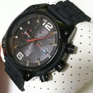 ディーゼル(DIESEL)の新品未使用シリコンベルト 電池新品 dz4373 ディーゼル 腕時計(腕時計(アナログ))